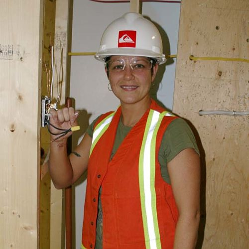 Jackie Frampton Electrician | OAWA NL