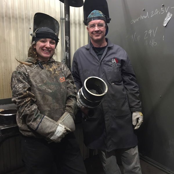 UA Trainer with Candice Gibson, Welder